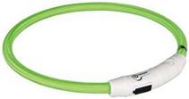 Trixie USB / ошейник для собак Мигающий Зеленый