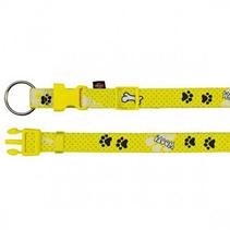 Заказать Trixie Woof / ошейник для собак нейлон с рисунком Желтый по цене 370 руб