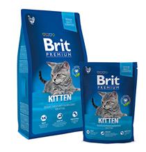 Brit Kitten Premium / Сухой корм Брит Премиум для Котят Курица в лососевом соусе