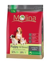 Заказать Molina Puppy All Breed / Сухой корм для Щенков всех пород от 4 до 16 недель по цене 480 руб