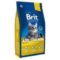 Brit Premium Adult Salmon / Сухой корм Брит Премиум для взрослых кошек Лосось
