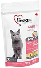 1st Choice Indoor Vitality / Сухой корм Фёст Чойс для Домашних кошек Цыпленок