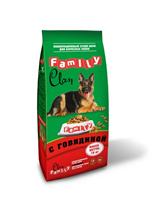 Clan / Сухой корм Клан для собак всех пород Говядина
