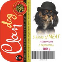 Заказать Clan / Консервы для собак паштет 5 видов мяса Цена за упаковку по цене 1780 руб