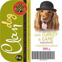 Заказать Clan / Консервы для собак паштет с Индейкой и Дичью Цена за упаковку по цене 1780 руб
