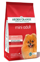 Arden Grange Adult Mini Chicken & Rice / Сухой корм Ардэн Грэндж для собак Мелких пород Курица и Рис