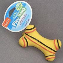 """Hartz Dura Play Bone Toy / Игрушка Хартц для собак """"Кость трёхгранная"""" Латекс с наполнителем, запах бекона"""