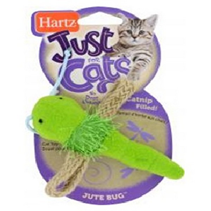 """Hartz JFC Jute Bugs / Игрушка Хартц для кошек мягкая """"Стрекоза"""""""