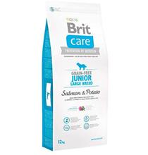 Brit Care Junior Large Breed Salmon & Potato / Сухой корм Брит Беззерновой для Юниоров Крупных пород Лосось Картофель