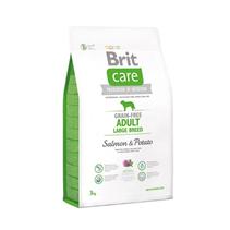 Заказать Brit Care Adult Large Breed Salmon & Potato / Сухой корм Беззерновой для взрослых собак Крупных пород Лосось Картофель по цене 480 руб