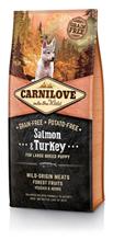 Brit Carnilove Puppy Large Breed Salmon & Turkey / Сухой корм Брит Карнилав Беззерновой для Щенков Крупных пород Лосось Индейка