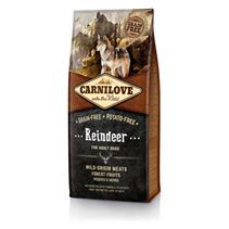 Brit Carnilove Adult Reindeer / Сухой корм Брит Карнилав Беззерновой для взрослых собак всех пород Северный Олень