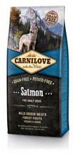 Brit Carnilove Adult Salmon / Сухой корм Брит Карнилав Беззерновой для взрослых собак всех пород Лосось