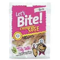 Заказать Brit Let's Bite Chompin' Sage / Лакомство для собак с Шалфеем по цене 170 руб