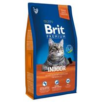 Brit Premium Indoor / Сухой корм Брит Премиум для Домашних кошек Курица и Печень