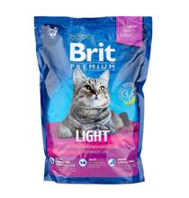 Brit Premium Light / Сухой корм Брит Премиум Низкокалорийный для кошек Курица и Печень