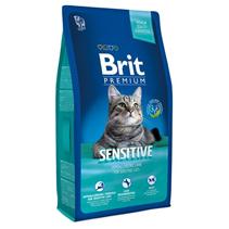 Brit Premium Sensitive / Сухой корм Брит Премиум Гипоаллергенный для кошек с Чувствительным пищеварением Ягненок
