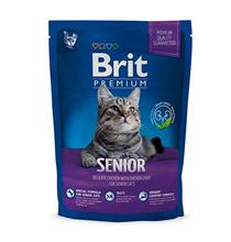 Brit Premium Senior / Сухой корм Брит Премиум для Пожилых кошек Курица и Печень