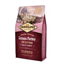 Brit Carnilove Kitten Salmon & Turkey / Сухой корм Брит Карнилав для Котят Лосось и Индейка