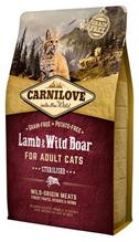 Brit Carnilove Adult Sterilised Lamb & Wild Boar / Сухой корм Брит Карнилав для Стерилизованных кошек Ягненок и Дикий кабан