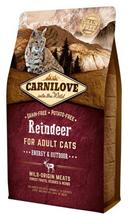 Brit Carnilove Adult Energy & Outdoor Reindeer / Сухой корм Брит Карнилав для Активных кошек Северный Олень