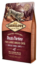 Brit Carnilove Large Breed Cats Duck & Turkey / Сухой корм Брит Карнилав для кошек Крупных пород Утка и Индейка