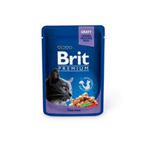 Brit Premium Cod Fish Паучи / Паучи Брит Премиум для кошек Треска (цена за упаковку)