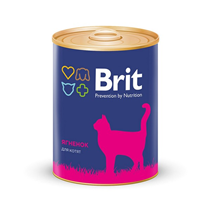 Brit Premium Kitten Lamb / Консервы Брит Премиум для Котят Ягненок