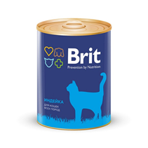 Brit Premium Turkey / Консервы Брит Премиум для кошек Индейка