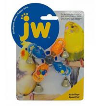 JW Activitoys Quad Pod / Игрушка для птиц Мельница с колокольчиками пластик
