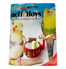 JW Activitoys Drum / Игрушка для птиц Барабан пластик