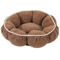 Petmate Pet Bedding Puffy Round Cat Bed / Лежак Петмейт для кошек с Бортиками Круглый