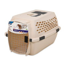Petmate Vari Kennel / Переноска для домашних животных Отбелённый лён пластик