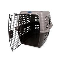 Заказать Petmate Navigator W Microban Int'l / Переноска для домашних животных Cерая с Перегородкой пластик по цене 7730 руб