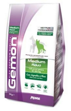 Gemon Adult Medium Lamb & Rice / Сухой корм Джимон для взрослых собак Средних пород Ягненок с рисом
