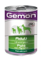 Gemon Adult Pate Lamb / Консервы Джимон для собак Паштет Ягненок (цена за упаковку)