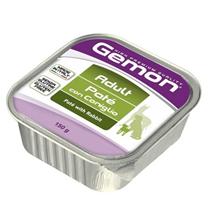 Gemon Adult Pate Rabbit / Консервы Джимон для собак Паштет Кролик (цена за упаковку)