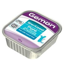 Gemon Sterilized Pate Tuna / Консервы Джимон для Стерилизованных кошек Паштет Тунец (цена за упаковку)