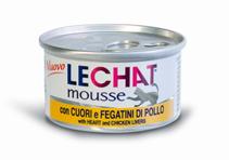 Заказать Lechat mousse Heart & Chicken livers / Консервы Мусс для кошек Сердце и Куриная печень Цена за упаковку по цене 1010 руб