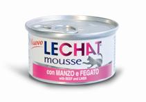 Заказать Lechat mousse Beef & Liver / Консервы Мусс для кошек Говядина и Печень Цена за упаковку по цене 1010 руб