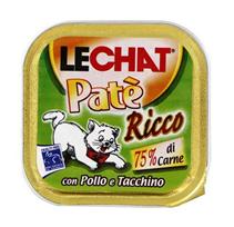 Заказать Lechat Pate Ricco con Pollo e Tacchino / Консервы для кошек Паштет Курица и Индейка Цена за упаковку по цене 1380 руб