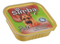 Заказать Simba Pate / Консервы для собак Паштет Мясо и Горох Цена за упаковку по цене 1300 руб