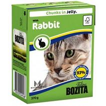 Bozita Feline / Консервы Бозита для кошек кусочки в желе Кролик (цена за упаковку)