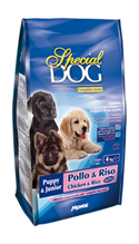 Special Dog Puppy & Junior Complete Menu Pollo & Riso / Сухой корм Спешл Дог для Щенков и Юниоров Курица с рисом