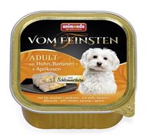 Заказать Animonda Vom Feinsten Adult / для собак с Курицей, Бананом и Абрикосами Цена за упаковку по цене 2580 руб