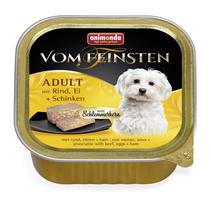 Animonda Vom Feinsten Adult / Консервы Анимонда для собак с Говядиной, Яйцом и Ветчиной (цена за упаковку)
