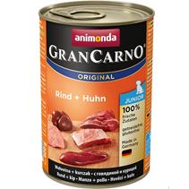 Animonda GranCarno Original Junior / Консервы Анимонда для Щенков и юниоров с Говядиной и Курицей (цена за упаковку)