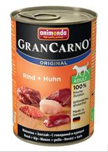 Animonda GranCarno Original Adult / Консервы Анимонда для собак с Говядиной и Курицей (цена за упаковку)