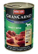 Animonda GranCarno Original Adult / Консервы Анимонда для собак с Говядиной и Дичью (цена за упаковку)