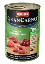 Заказать Animonda GranCarno Original Adult / для собак с Говядиной и сердцем Утки Цена за упаковку по цене 990 руб